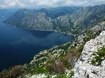 This view overlooking Ljuta is only for the active hiker. NOT to be taken lightly.