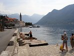 A 10 minutes drive, Perast, guarding the entrance to Boka Bay A beautiful old town.