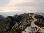 Up amongst the Gods, Mount Lovcen with Petar Petrovic-Njegos.