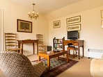 Antiques and lovely pictures in this rural retreat