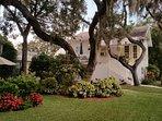 110 Bath.  Carriage House on Spring Bayou