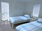 Twin singles in 2nd bedroom