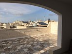 roof terrace - view to mdina