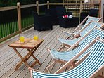 Sun deck for the afternoon