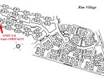 Rim Village Map - Y-4 is a corner unit with views across a seldom-used ball field.