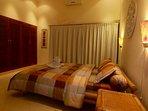 bedroom with build in wardrobe