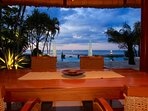 enjoy your dinner with this view