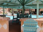 BYOB! Start your own pool party.  Swim up bar facilities with on-site grills
