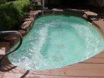 Hot tub spa, so relaxing!