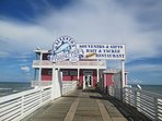 Like to fish? Check out 90th Street Fishing Pier and Jimmy's on the Pier Restaurant.