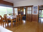 Spacious open plan dining/kitchen and lounge