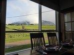 Mt. Roland views as you dine