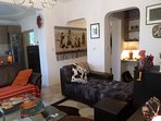 Cozy  and lux apartment  in Sofia, Lozenez!   Living areas with open plan office space