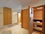 Sauna in 'Residence Kitzbühel'