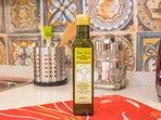 olio evo prodotto da noi con le olive dei nostri alberi centenari
