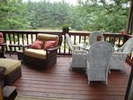 View from Living room of Deck