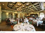 The Strand Grill room for gourmet dining experience.