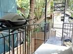 Weber BBQ on private balcony