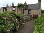 Footpath leading to Valasay Cottage