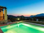 Villa Thalia offers stunning sea views!