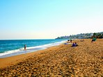 The golden beaches at Fuengirola - Also less than 10 minutes drive away - from door to beach :)