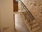 Steps up to Astraeus apartment