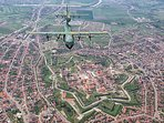 Overview of Alba Iulia Fortress apartment is 50 m from east