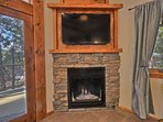 Enjoy Gas Fireplace Anytime