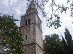 Town of Dobrinj - a self standing church tower