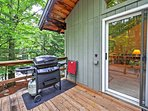 Step outside and fire up the gas grill!
