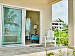 Coral Suite veranda