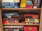 Games and puzzles for fun family time.