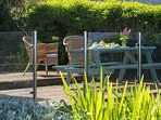 Harlech holiday cottage  - garden