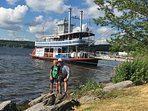 Chautauqua Belle in Bemus Point.