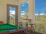 Gorgeous Views to Slopes of Breck from Gameroom!