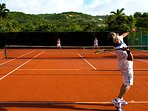 There's tennis too!