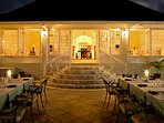 On select nights, make reservations at the elegant Great House terrace for Continental or Jamaican specialties...
