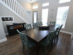Dining Table Towards Front Door Showing Stairs