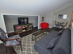 Second Floor Den for the Kids with LED TV