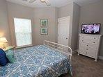 Queen Bedroom Towards TV