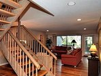Couch,Furniture,Banister,Handrail,Staircase