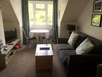 Living room, The Ryder holiday apartment, Polperro