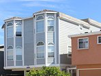 Renovated Oceanfront Unit in Triplex w/ Ocean View, Private Balcony! (68166)