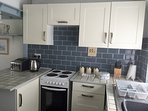 Kitchen, The Ryder holiday apartment, Polperro