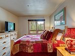 Tyra Chalet Master Bedroom Breckenridge Lodging Vacation Rentals