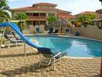 Community swimming pool just steps away!