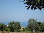 The sea view from our yard
