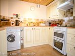 Fully equipped Kitchen on ground floor (Bracken Apartment)