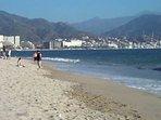 Playa Holi beach 10-12 minute walk from Marbella