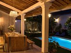 Veranda _ Imagine yourself relaxing here at the end of your day